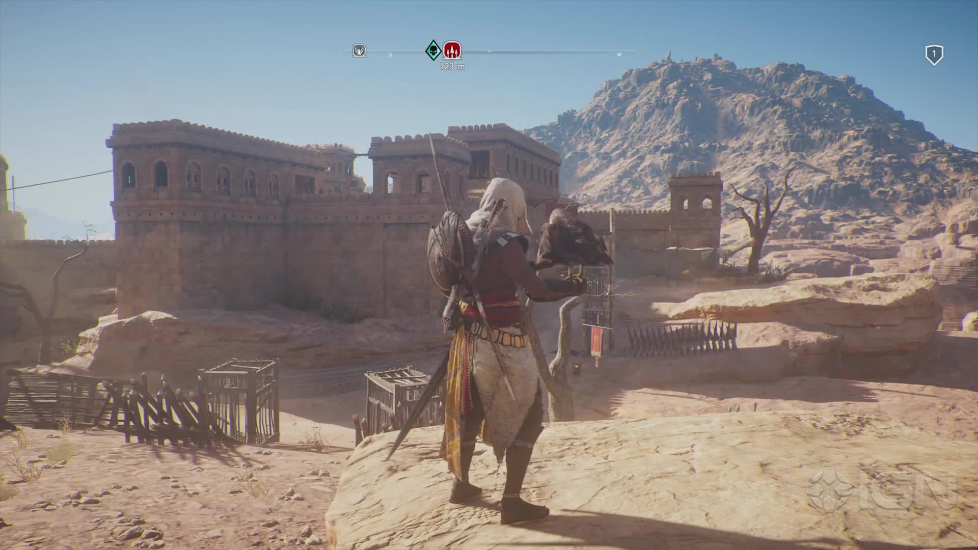 Assassin S Creed Origins High Level Gameplay Feed4gamers