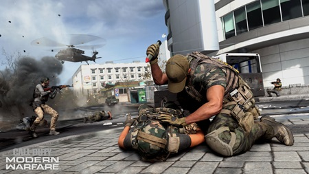 Call of Duty Modern Warfare shows Special Ops mode