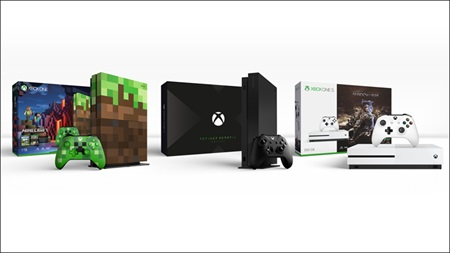 New Xbox One X and Xbox One S editions announced, preorders launched