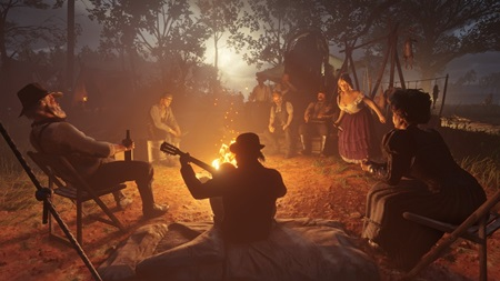 Red Dead Redemption 2 screenshots shows John Marston Up and Arthur Morgan