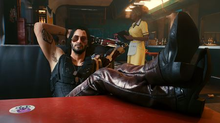Cyberpunk 2077 shows official gameplay and Johnny Silverhand character