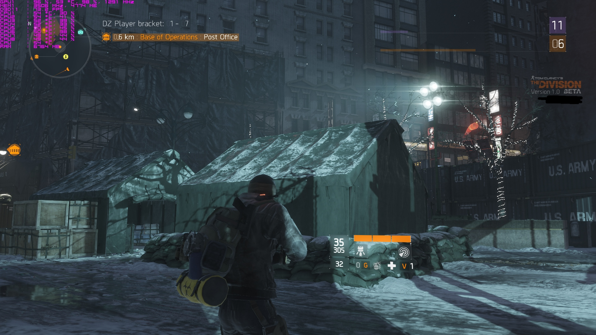 PC The Division screenshots, now with HBAO+ | Feed4gamers