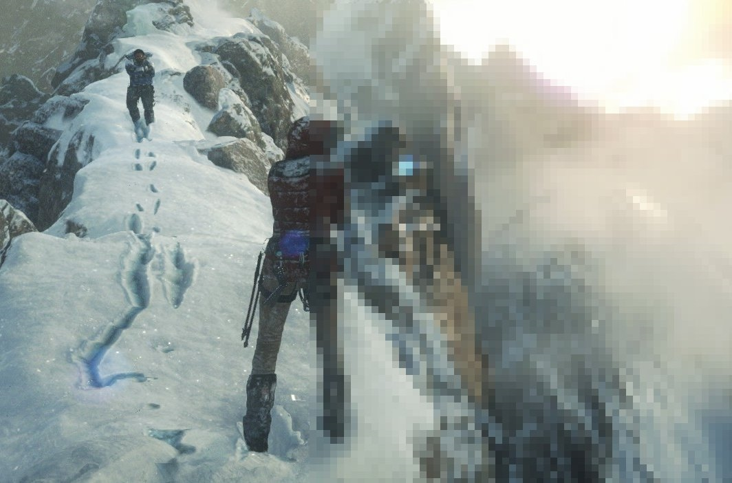 Rise Of The Tomb Raider Xbox One Vs Pc In Gameplay Feed4gamers