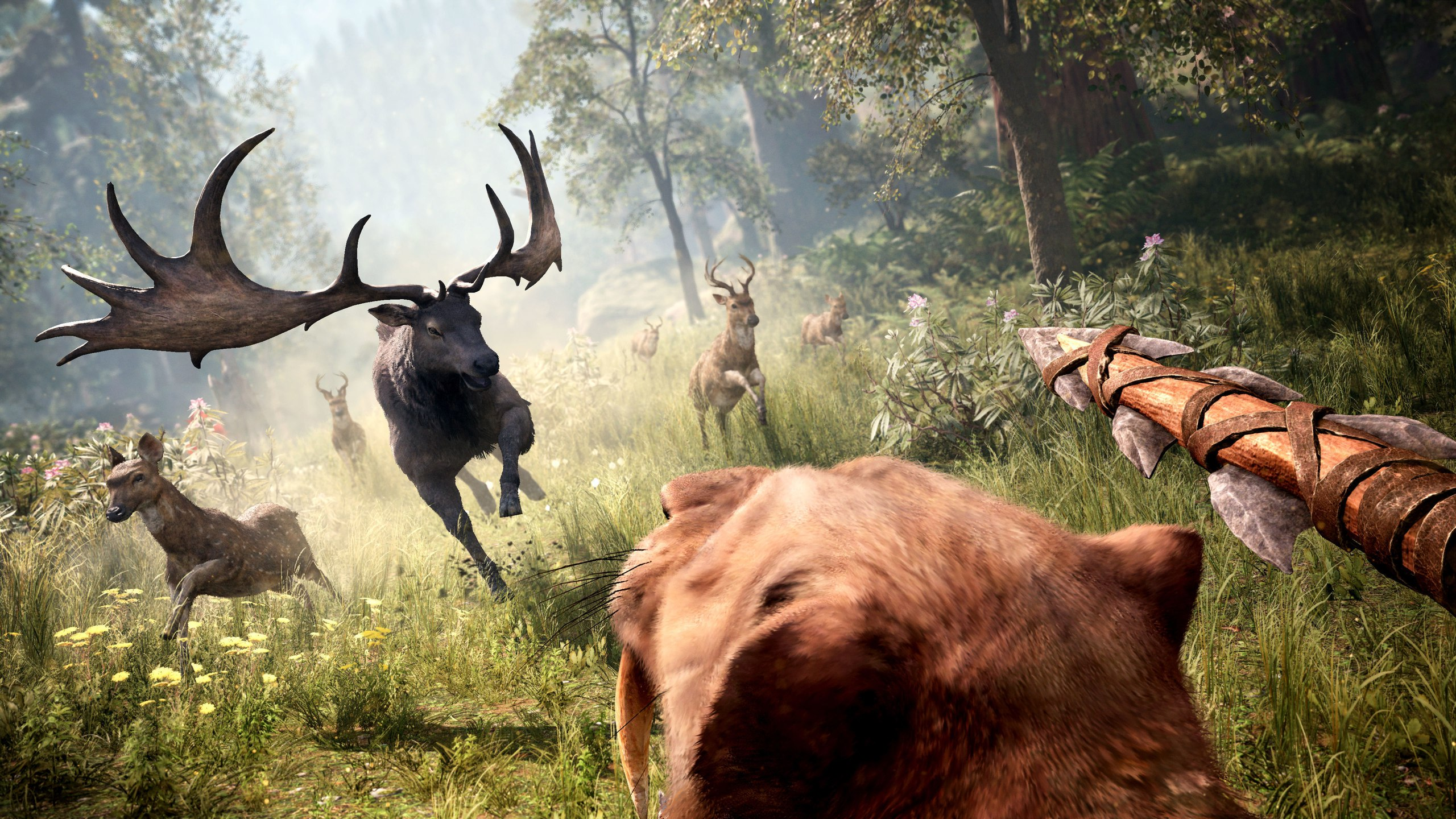 Far Cry Primal 1 3 Is Online Adds Survivor Mode And Ultra Hd