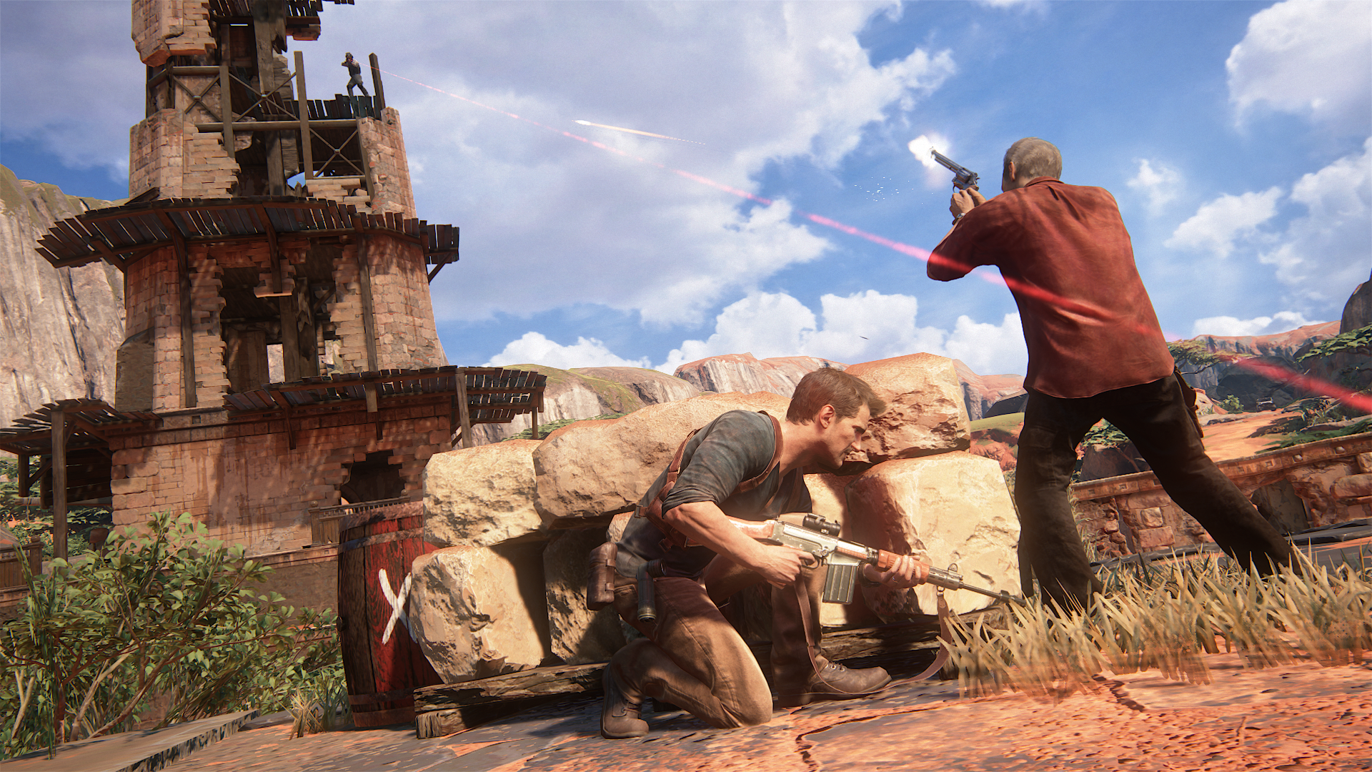 Uncharted 4 A Thief S End Screenshots And Gameplay Trailer