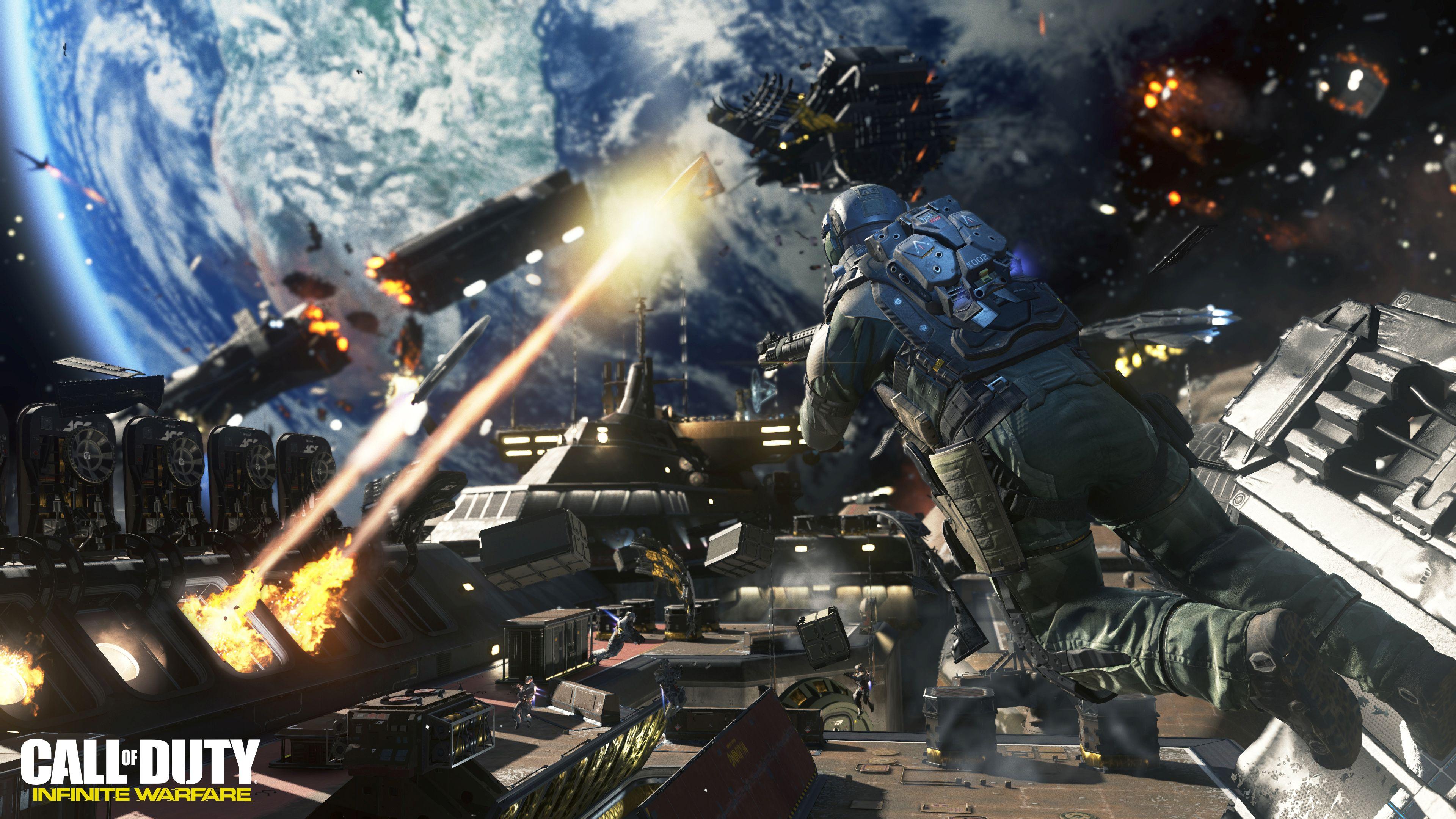 Call Of Duty Infinite Warfare Screenshots And Space Gameplay Feed4gamers
