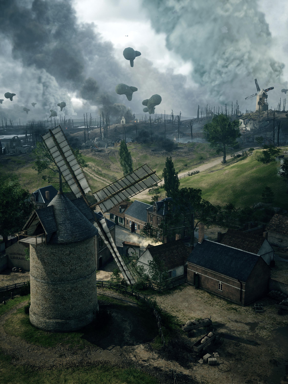 World Domination Game >> Battlefield 1 alpha test shows Domination Mode and battlefields | Feed4gamers