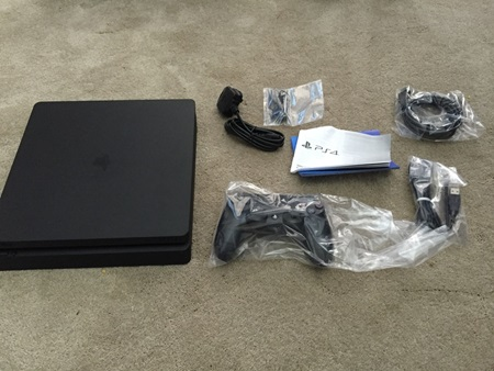 PS4 Slim leaked?