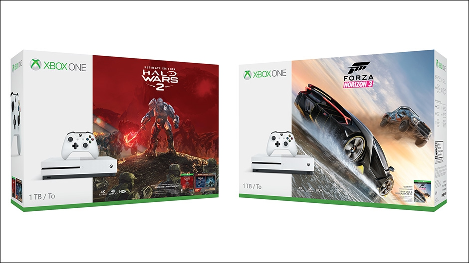 New Xbox One Game Announced : New xbox one s bundles announced feed gamers
