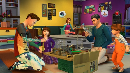 Sims 4 Parenthood DLC announced