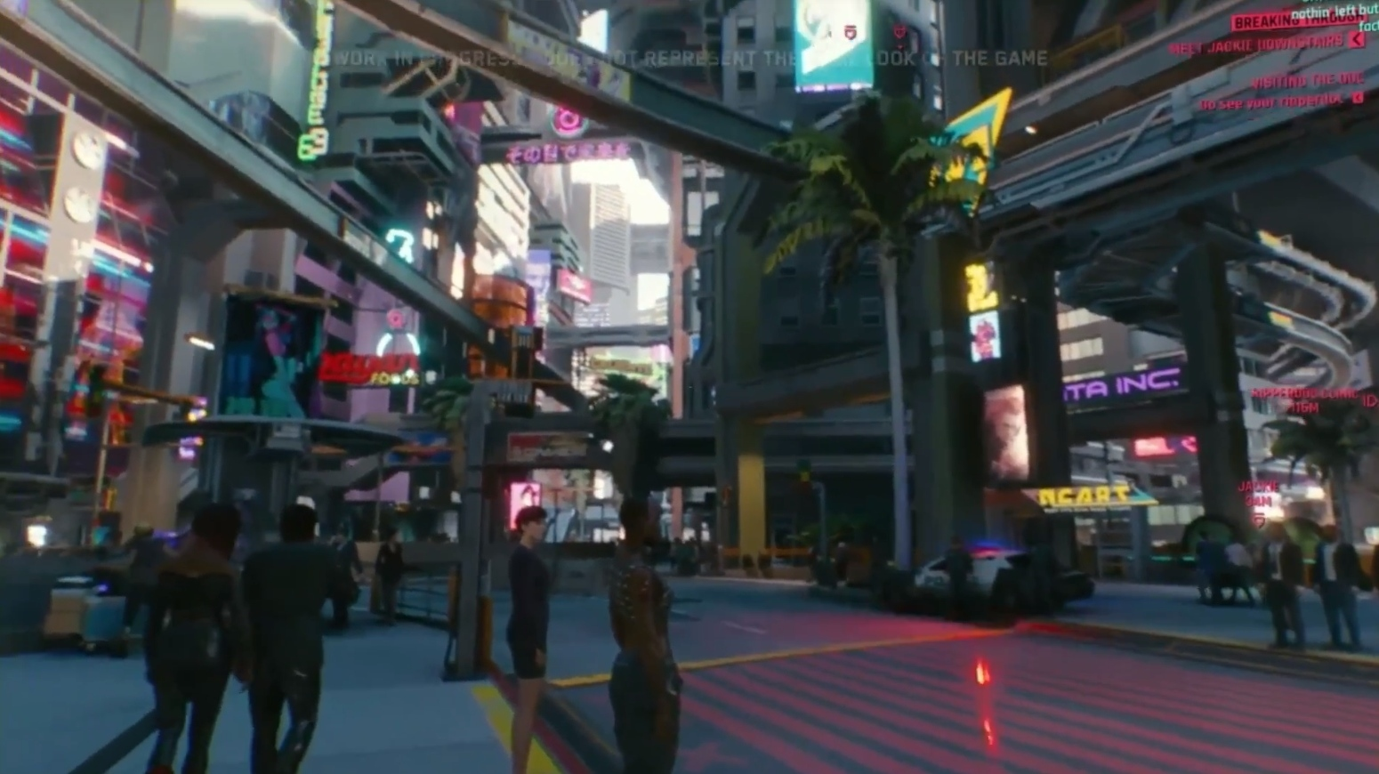 Cyberpunk 2077 shows 48 minutes of gameplay | Feed4gamers